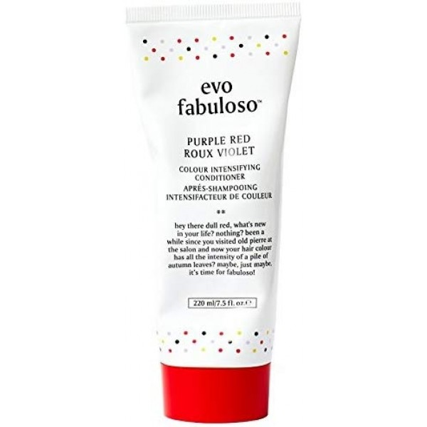 EVO Fabuloso Purple Red Colour Intensifying Conditioner 220ml