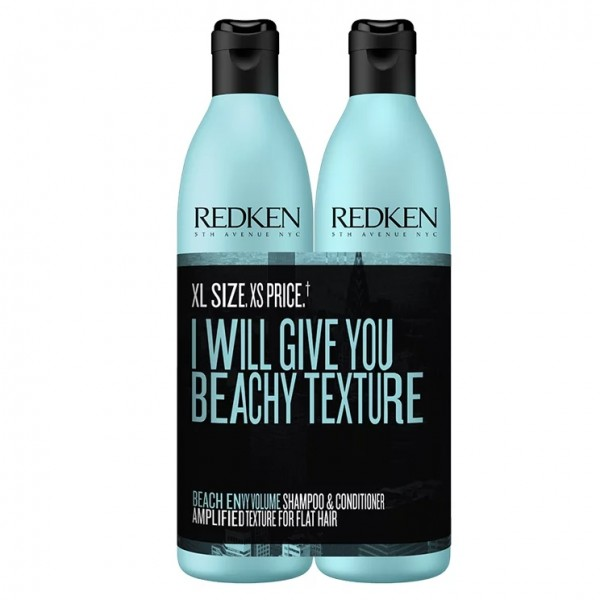 Redken Beach Envy Volume Shampoo & Conditioner Duo 500ml
