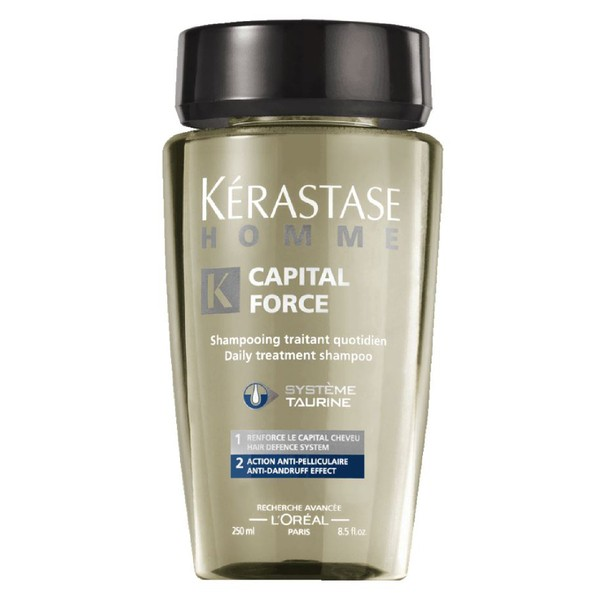 Kérastase Homme Captial Force Anti-Dandruff Shampoo 250ml