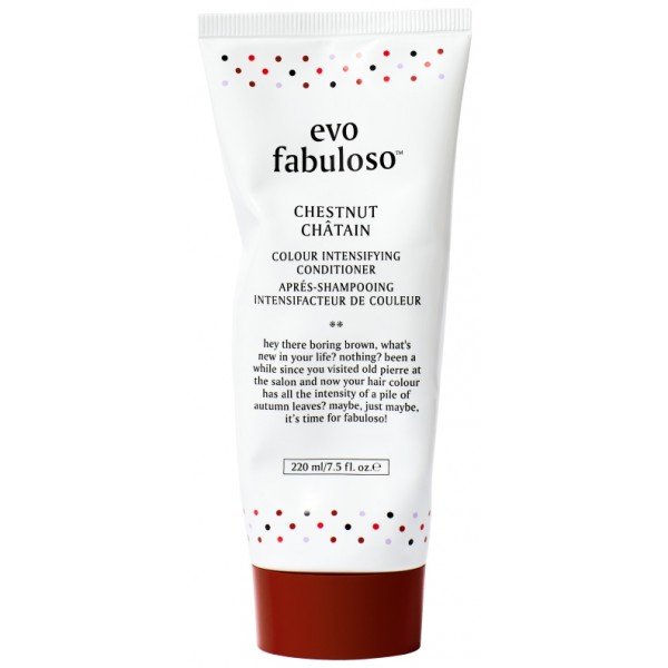 EVO Fabuloso Chestnut Colour Intensifying Conditioner 220ml