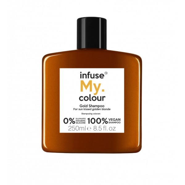 Infuse My. Colour Shampoo 250ml – Gold
