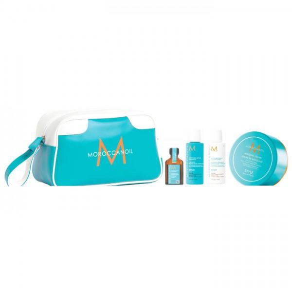 Moroccanoil Molding Cream Wash Bag Set