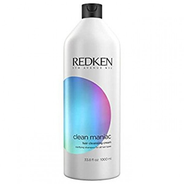 Redken Clean Maniac Hair Cleansing Cream Shampoo 1000ml