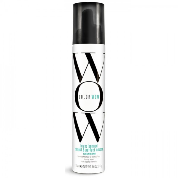 Color Wow Brass Banned Mousse - For Dark Hair 8.6oz