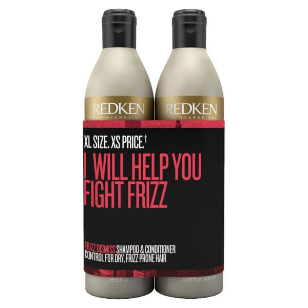 Redken Frizz Dismiss Shampoo & Conditioner Duo 500ml