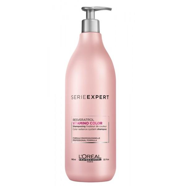 Serie Expert Resveratrol Vitamino Color Shampoo 980ml