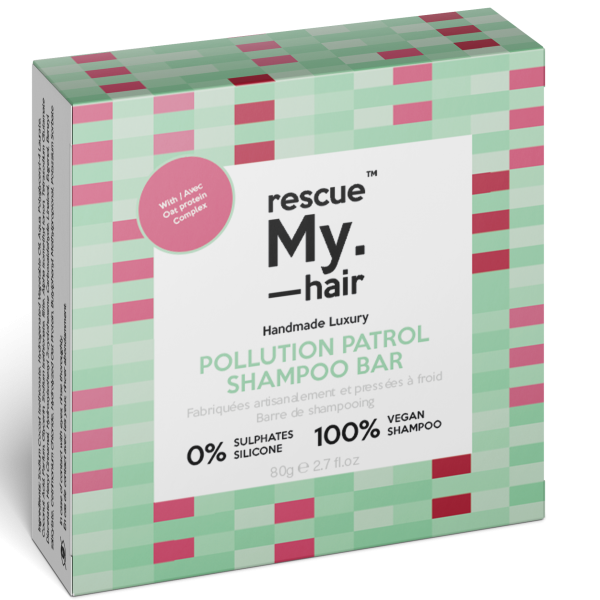 Rescue My. Hair™ Pollution Patrol Shampoo Bar 80g