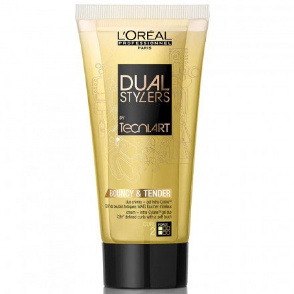 Tecni Art Dual Styler Bouncy & Tender 150ml