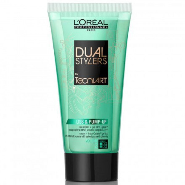Tecni Art Dual Styler Liss & Pump-Up 150ml