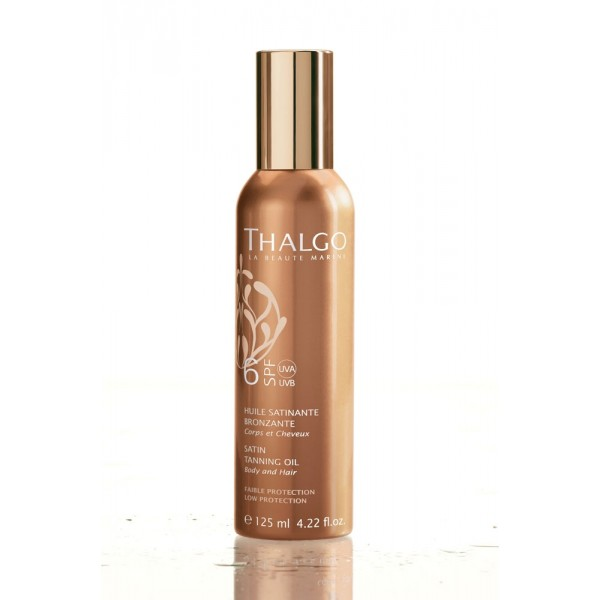 Thalgo SPF6 Satin Tanning Oil 125ml