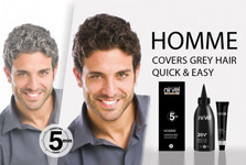 Mens Hair Colour by Homme from Nirvel Professional